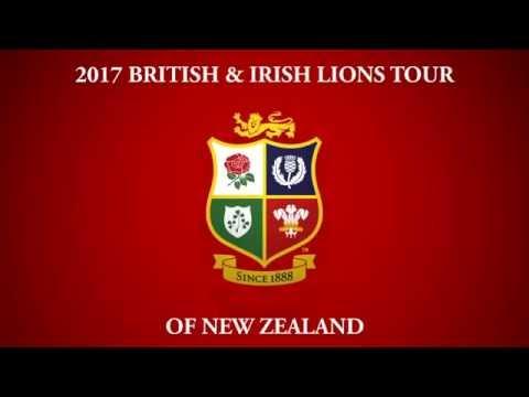 2017 British & Irish Lions tour of New Zealand Game Schedule