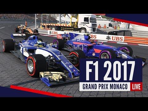 [RE-LIVE] F1 2017 - Kariera w Toro Rosso! Grand Prix Monaco!