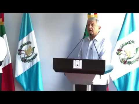 AMLO SE REUNE CON EL PRESIDENTE DE GUATEMALA