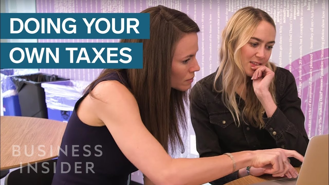 What It's Like To Do Your Own Taxes For The Very First Time