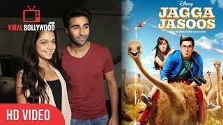 Jagga Jasoos Review   Armaan Jain And Anya Singh At Jagga Jasoos Special Screening