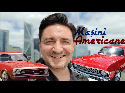 Epopeea Mainilor Americane Muscle Cars USA