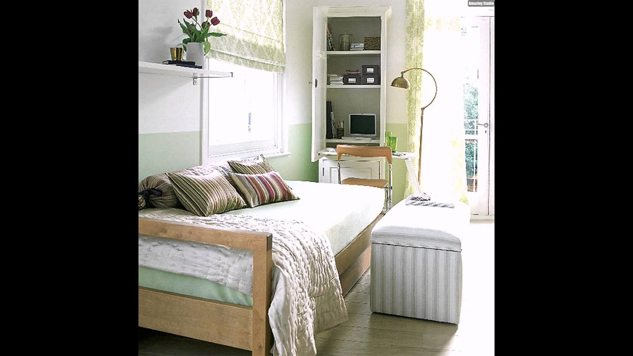 schlafzimmer arbeitszimmer interieur ideen f r kleine wohnung youtube. Black Bedroom Furniture Sets. Home Design Ideas