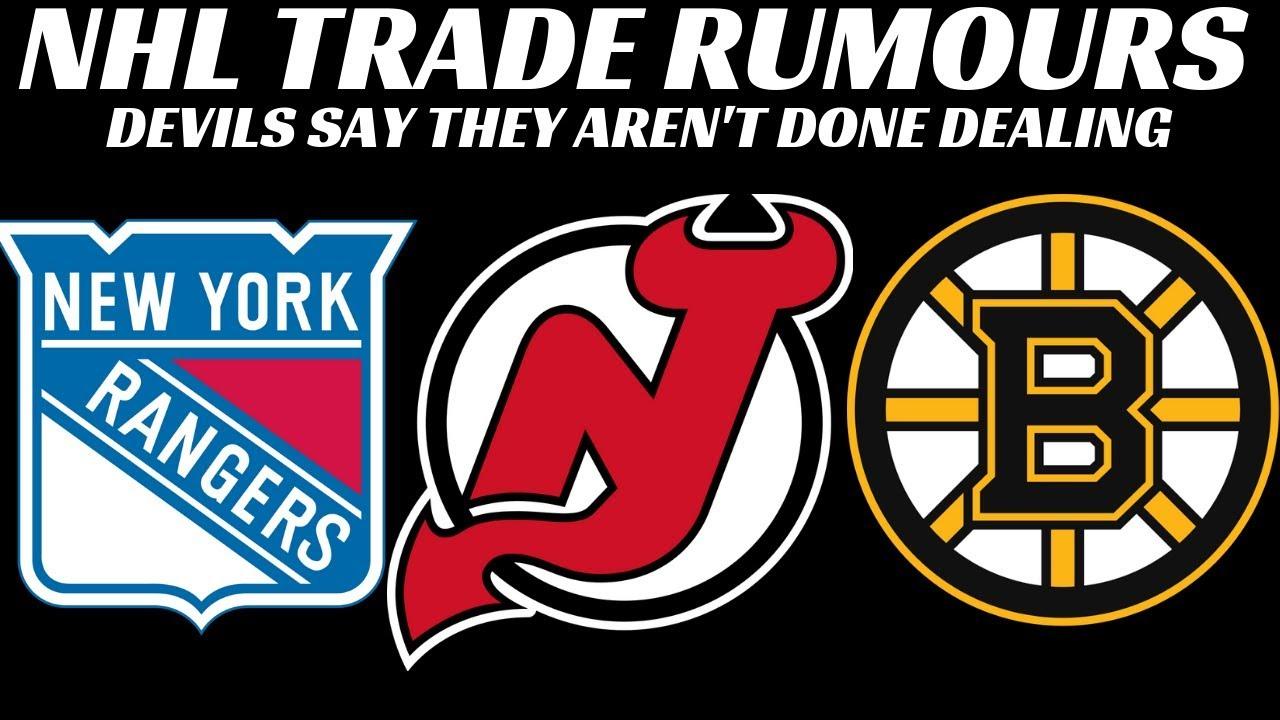 cheaper ae012 495e6 NHL Trade Rumours - Rangers, Devils, Bruins + Jets