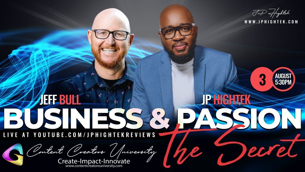 🔴 The Secret to Managing Business & Passion with Jeff Bull