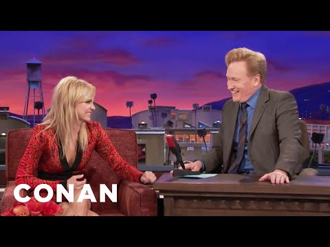 Anna Faris: I Feel Uncomfortable Every Moment Of My Life  - CONAN on TBS