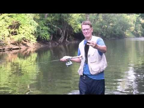 Catching Smallmouth On  Beautiful South Elkhorn Creek
