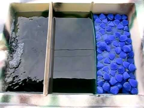 Goponic Aquaponics Filter Vortex Filter Swirl Filter