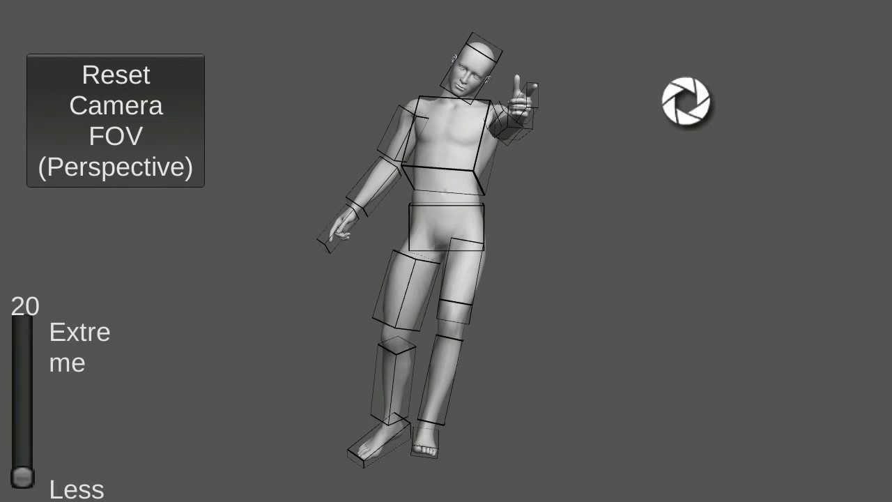 Pose tool 3d for pc