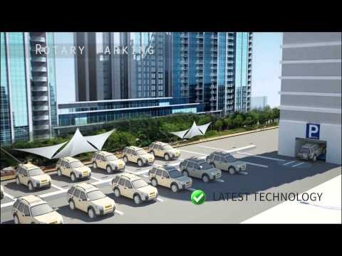 Rotary Parking System at Qatar By Al Manara Smart Parking