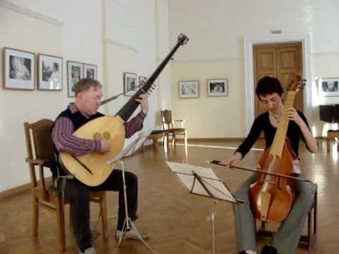 Marin Marais Allemande from Suite a-moll.
