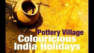 Holidays - Pottery Crafts Tribal Village Orissa India