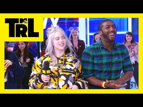 Billie Eilish Plays &39;Older or Younger&39; w TRL Fans  Weekdays at 3:30pm  TRL