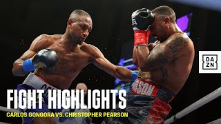 HIGHLIGHTS | Carlos Gongora vs. Christopher Pearson