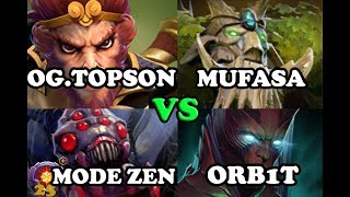 Dota 2 - TI8 Winner Topson [MK] was destroyed by 25 lvl Master tier [Broodmother] | 7.19C |