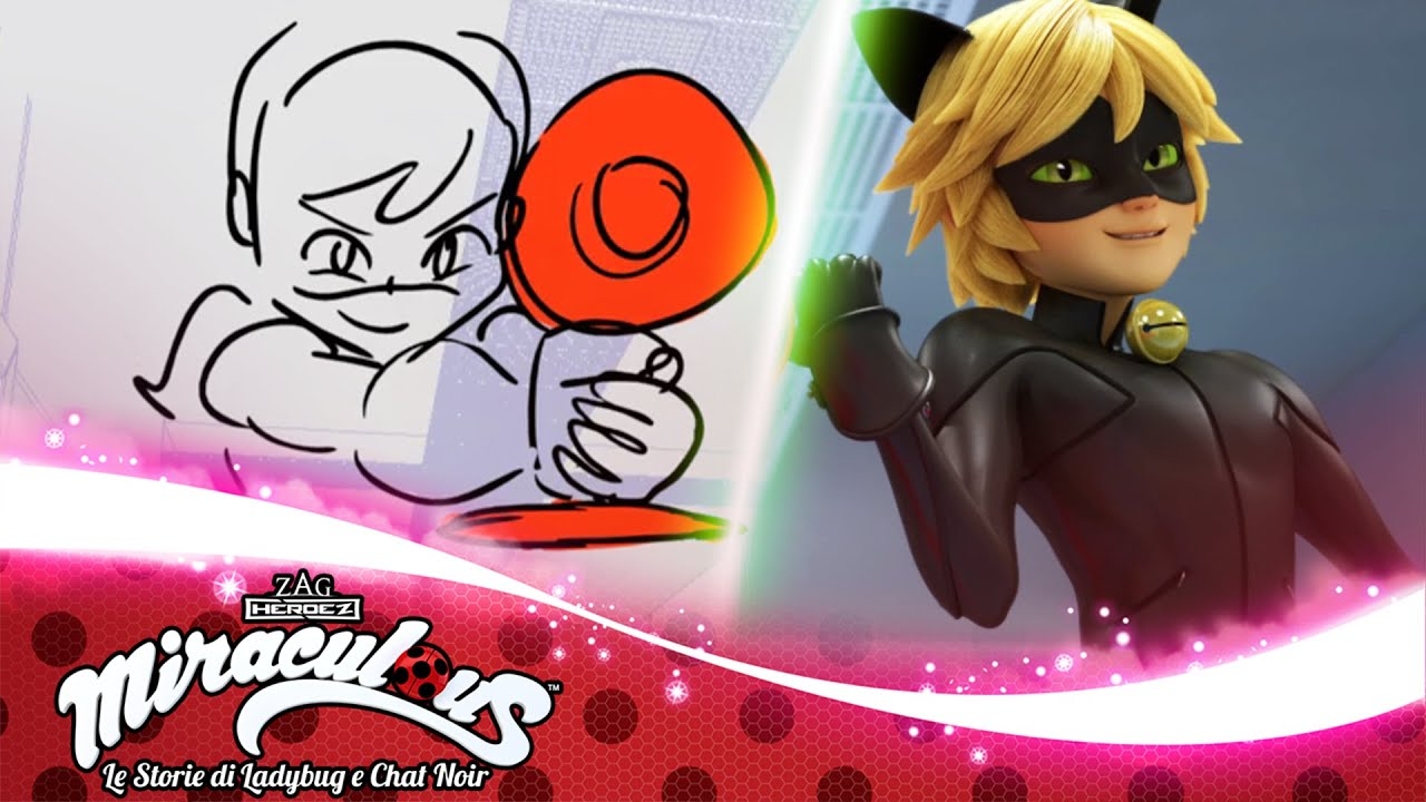 MIRACULOUS | 🐞 SILENCER - Storyboard ✏️ | Le storie di Ladybug e Chat Noir