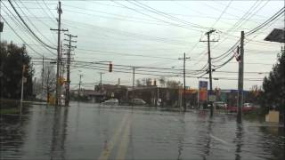 Hurricane Sandy: Bergen County, NJ- Little Ferry & Moonachie October 29 & 30, 2012