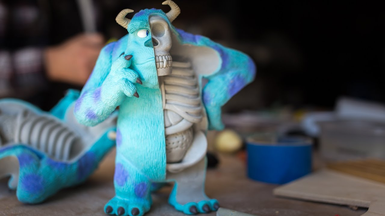 Meet Jason Freeny Custom Toy Sculptor Youtube