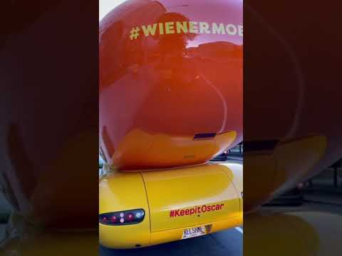 We were making dreams come true with Oscar Mayer in the WienermobileLyft