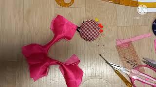 핑크색 민소매 드레스 상의 만들기