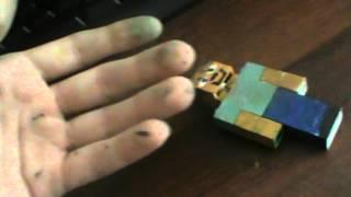 Как сделать крипера и Стива из Lego(В этом видео показано, как сделать из конструктора лего Крипера и Стива из Minecraft., 2012-06-27T06:21:32.000Z)