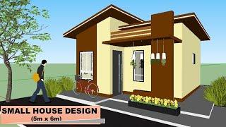 Small House Design  5m X 6m