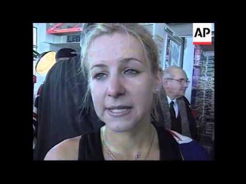 USA: NEW YORK: ANNUAL FLEET EMPIRE STATE BUILDING RUN