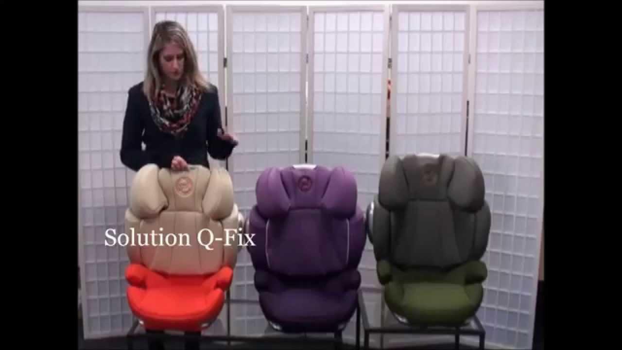 porovn n autoseda ek solution q fix solution q2 fix a solution q fix plus youtube. Black Bedroom Furniture Sets. Home Design Ideas