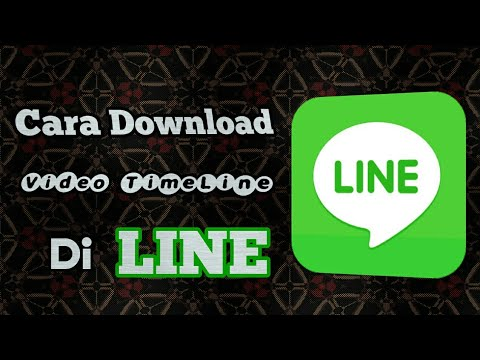 How to download video TL from line || Line tutorial #10