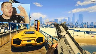 GTA 5: HUNGER GAMES nur FIRST PERSON! SPEZIAL FOLGE!