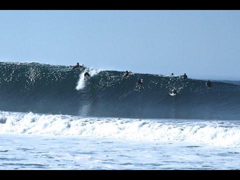 The Point Newport Beach, 56th street, 18th st, Hurrican Marie aug 27 2014
