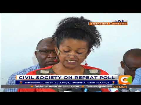 There is a looming crisis of leadership in Kenya-Civil society on repeat Poll