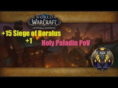 BfA Beta +15 Siege Of Boralus | Holy Paladin PoV
