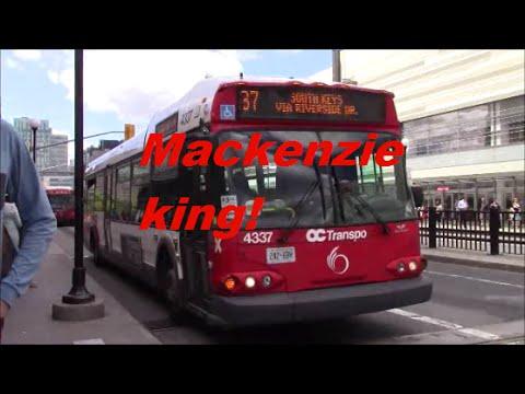 Ottawa buses on the Mackenzie King bridge w/ my new camera!