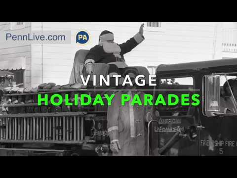 Vintage photos of central Pa. holiday parades