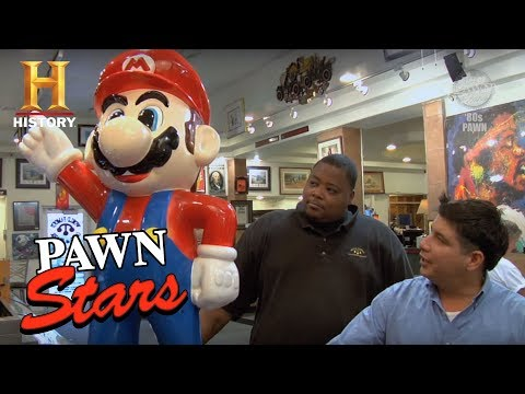 Best of Pawn Stars: Super Mario Statue | History