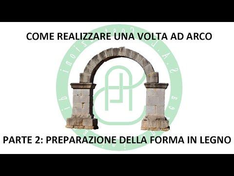 Creazione Volta Ad Arco - Parte 2: Preparazione Forma in Legno