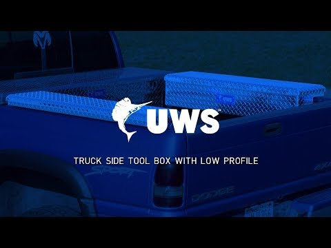 UWS | Truck Side Tool Box Tour with Low Profile