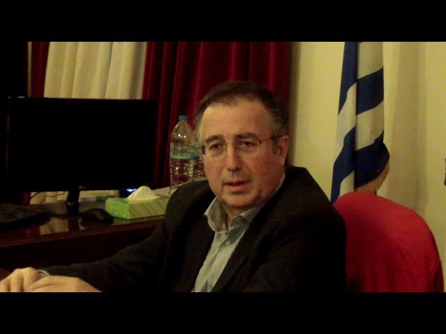 Συνέντευξη Τυπου Λ.Νιοτοπουλου για Αθλητικη Εκδηλωση ΠΕΖ