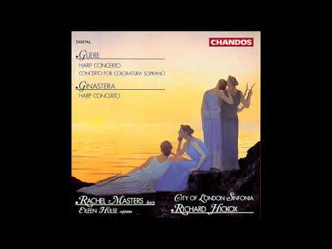 Reinhold Glière : Concerto in F minor/major for coloratura soprano and orchestra Op. 82 (1943)