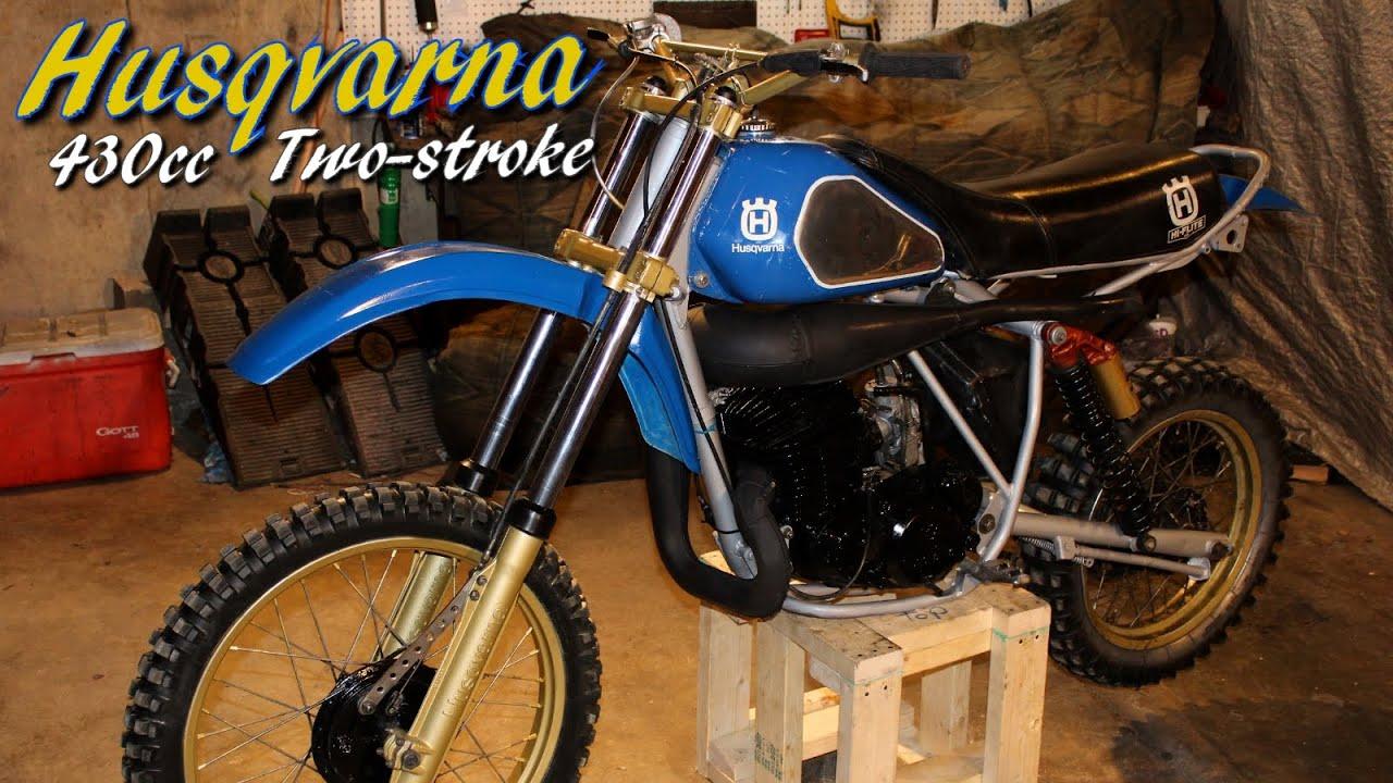 1981 Husqvarna 430 Xc Two Stroke Dirt Bike And Homemade