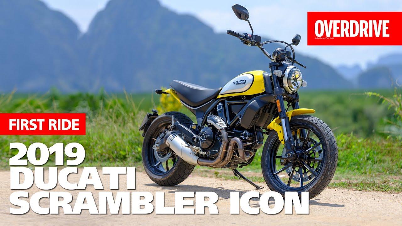 2019 Ducati Scrambler Icon I First Ride