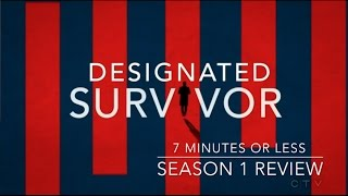 Designated Survivor -  Season 1 review