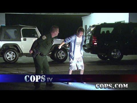 Poker Face, Deputy Sheriff Carlos Valencia, COPS TV SHOW