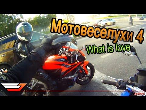 МОТОВЕСЕЛУХИ 4: What is love | Мото приколы