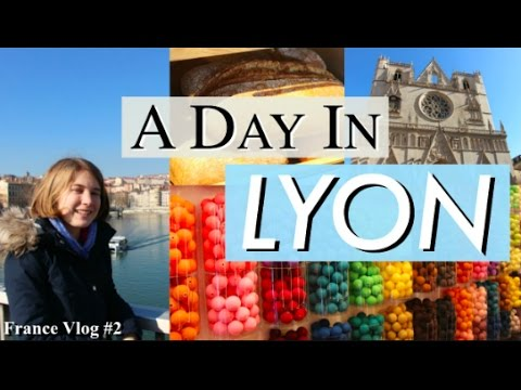 A Day in Lyon! \\ French Exchange Vlog #2