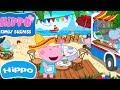 Hippo 🌼 Riddle en el video 🌼 Cocina 🌼 Bebé playa Café 🌼 Dibujos animados Revisión del juego