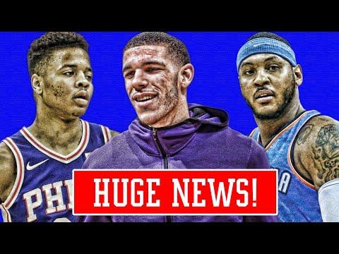 LONZO BALL TAKES BIG STEP! FULTZ STILL CANT SHOOT! MELO TROLLS HATERS! | NBA NEWS