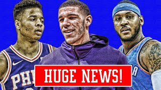LONZO BALL TAKES BIG STEP! FULTZ STILL CANT SHOOT! MELO TROLLS HATERS! | NBA NEWS