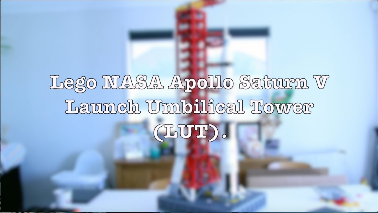 Lego Nasa Apollo Saturn V Launch Umbilical Tower Lut